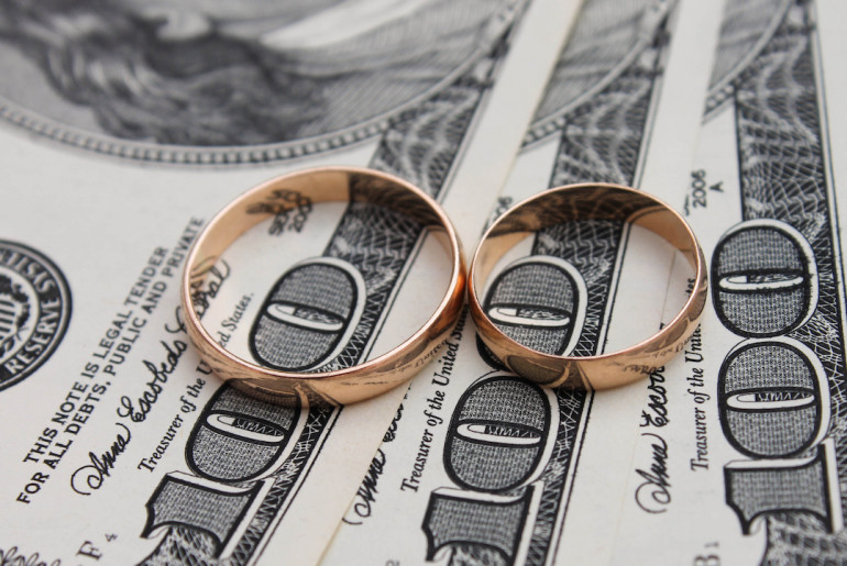 Cash in on your marriage.